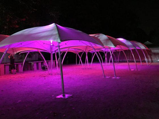 Uitlichting partytenten, Antwerpen