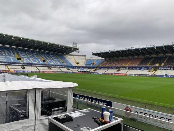 LED Boarding UEFA, Brugge